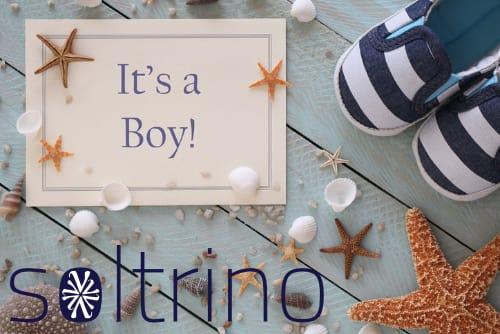 It's a Boy Announcement